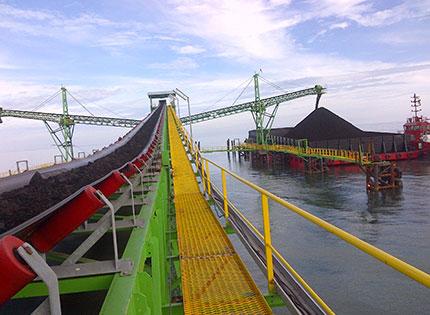 Coal Barging, Tongkang Batubara